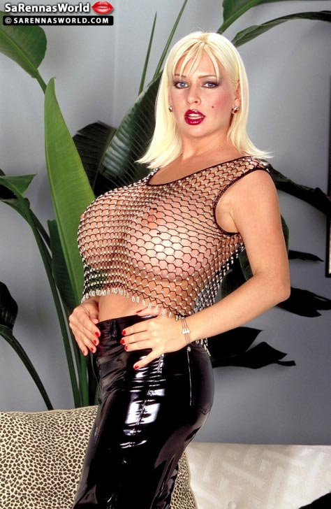 sarenna-lee-in-a-mesh-top-and-black-leather-pants-01