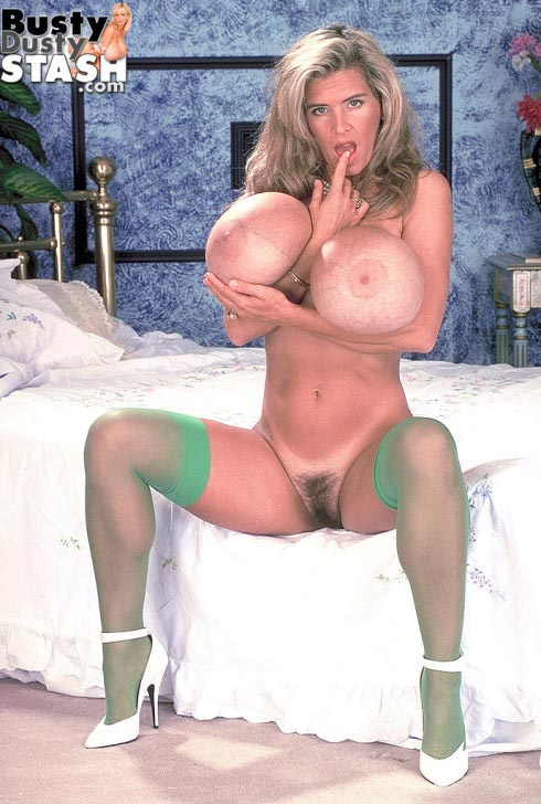 Busty dusty stockings video consider, that