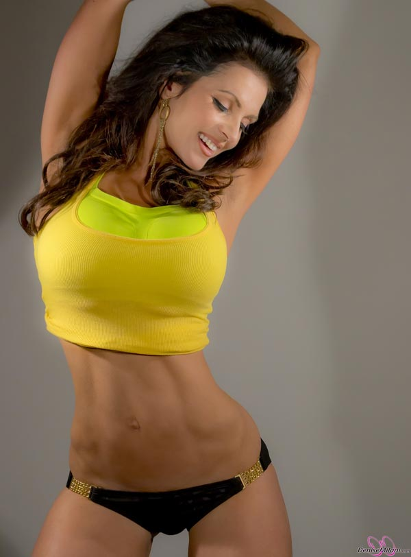 denise-milani-in-a-yellow-top03