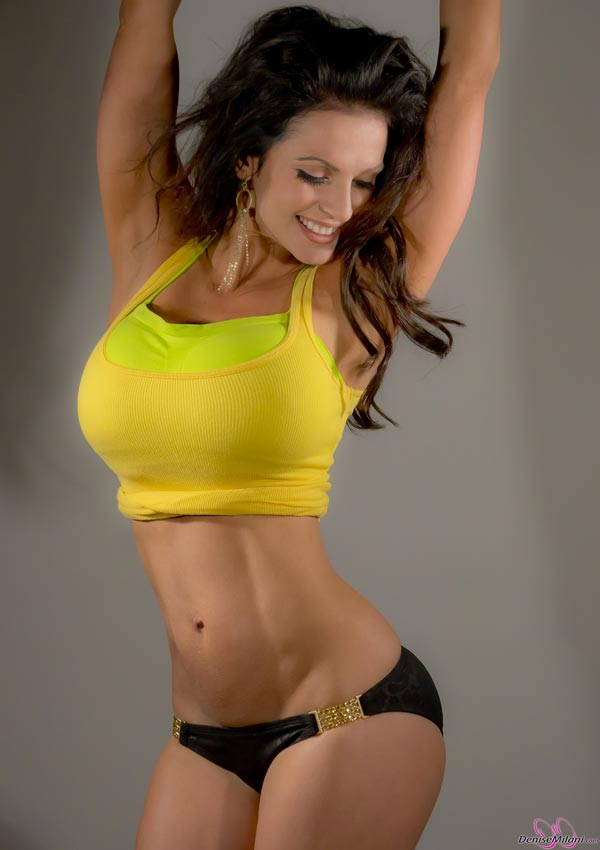 denise-milani-in-a-yellow-top06