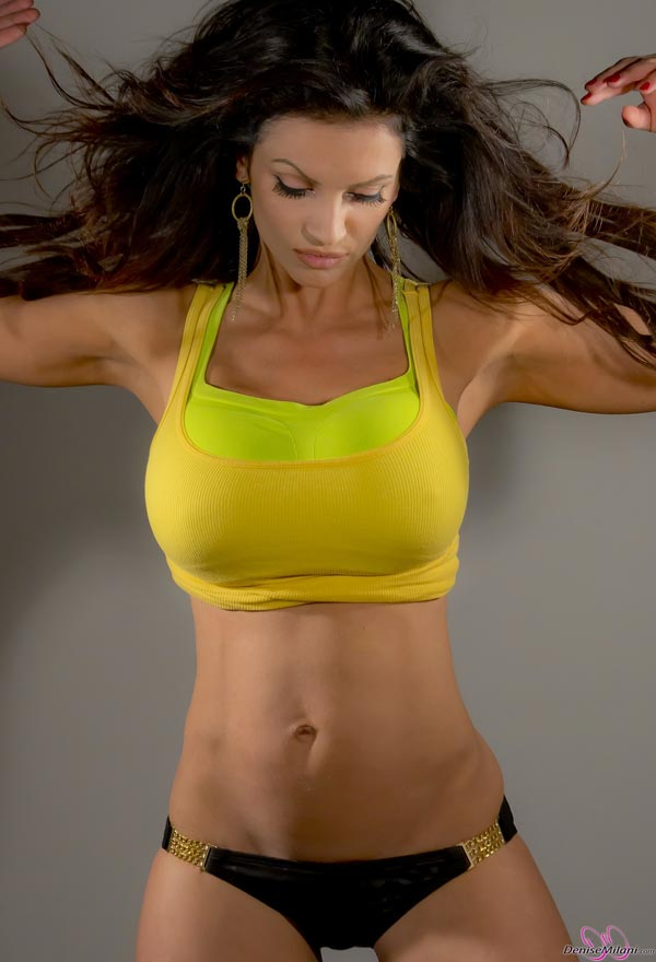 denise-milani-in-a-yellow-top07