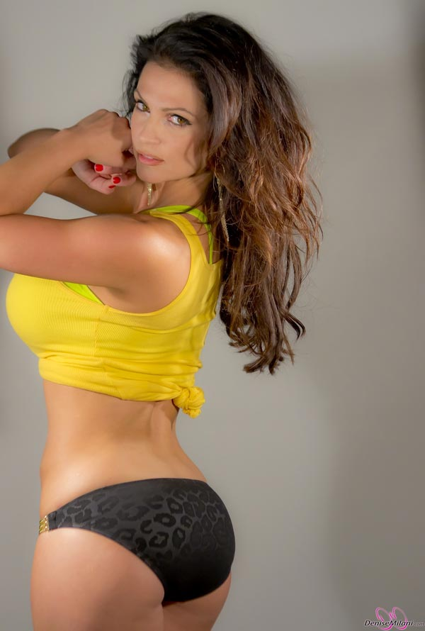 denise-milani-in-a-yellow-top12
