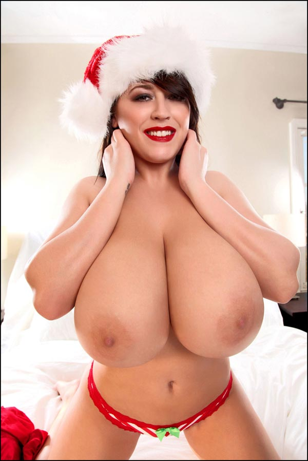 Huge boobs christmas