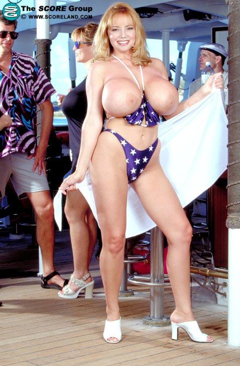 Traci Topps boob cruise in bkini – The Boobs Blog