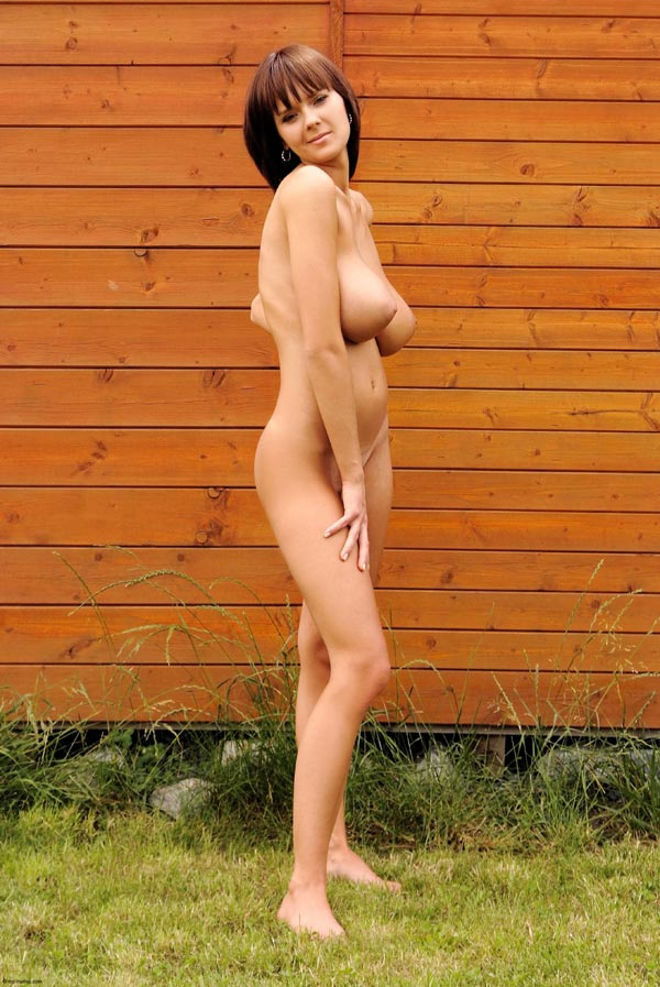 Something Naked in the backyard