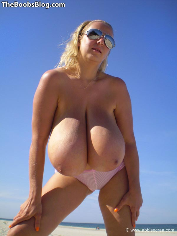 Think, that Naked women with huge tits on beach