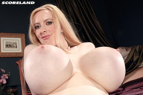 Giant prosthetic breasts