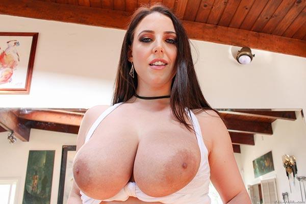 Angela white big boobs