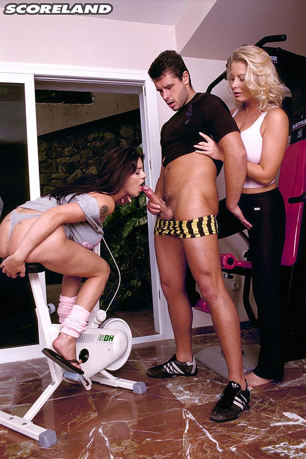 Got good Linsey dawn mckenzie gym threesome hot
