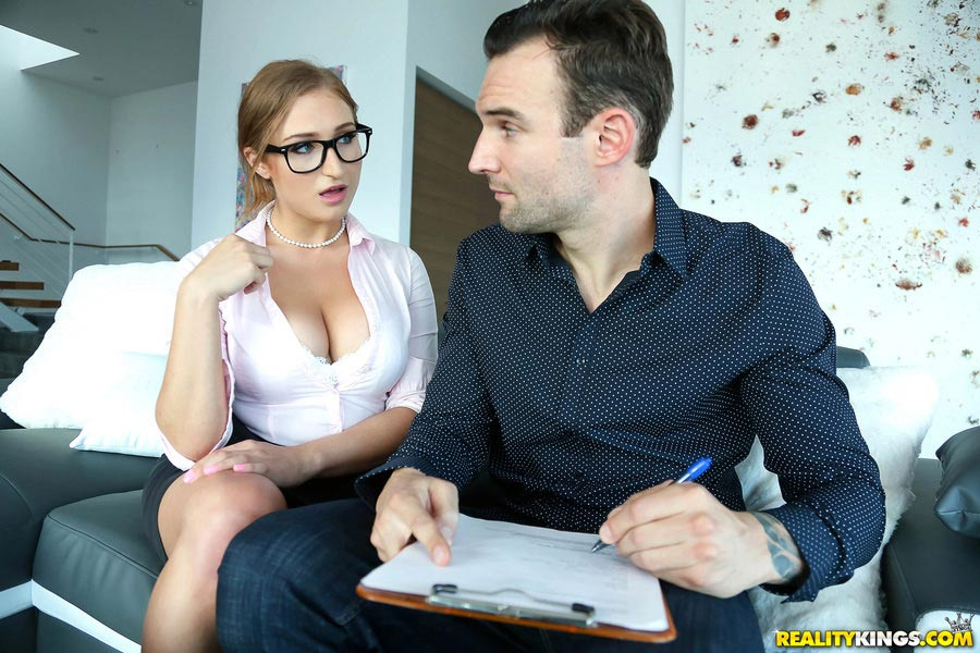 Busty ingrid swenson fucks at the interview 8