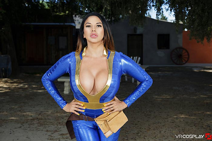 Badoink vr busty latina kesha ortega shakes her ass amp rides your cock 10