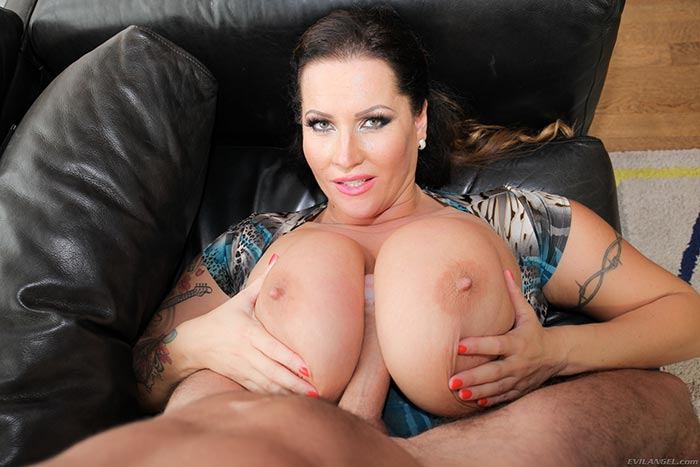 Huge Natural Tits Titjob