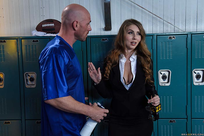 Lena paul in the sidelines pornharlot