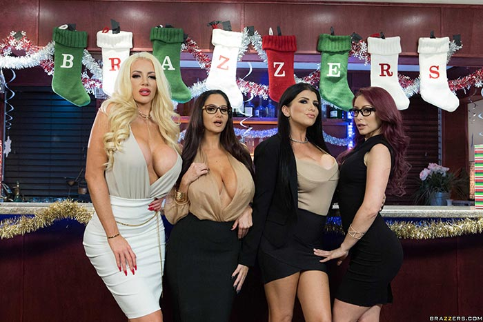 Ava Addams Christmas.Office Christmas Bonuses With Ava Addams Monique Alexander