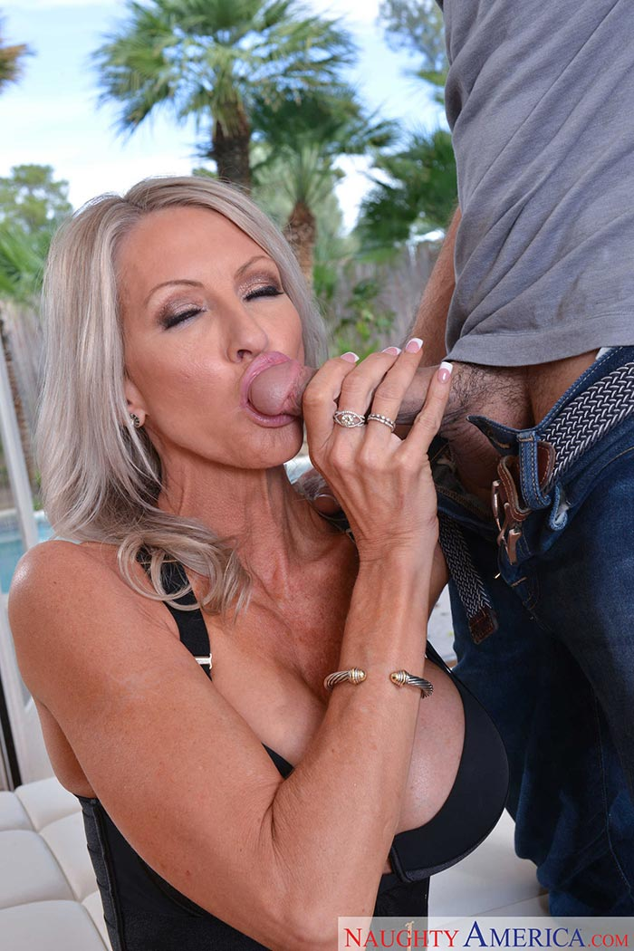 White wife suck his black balls and make him cum 6