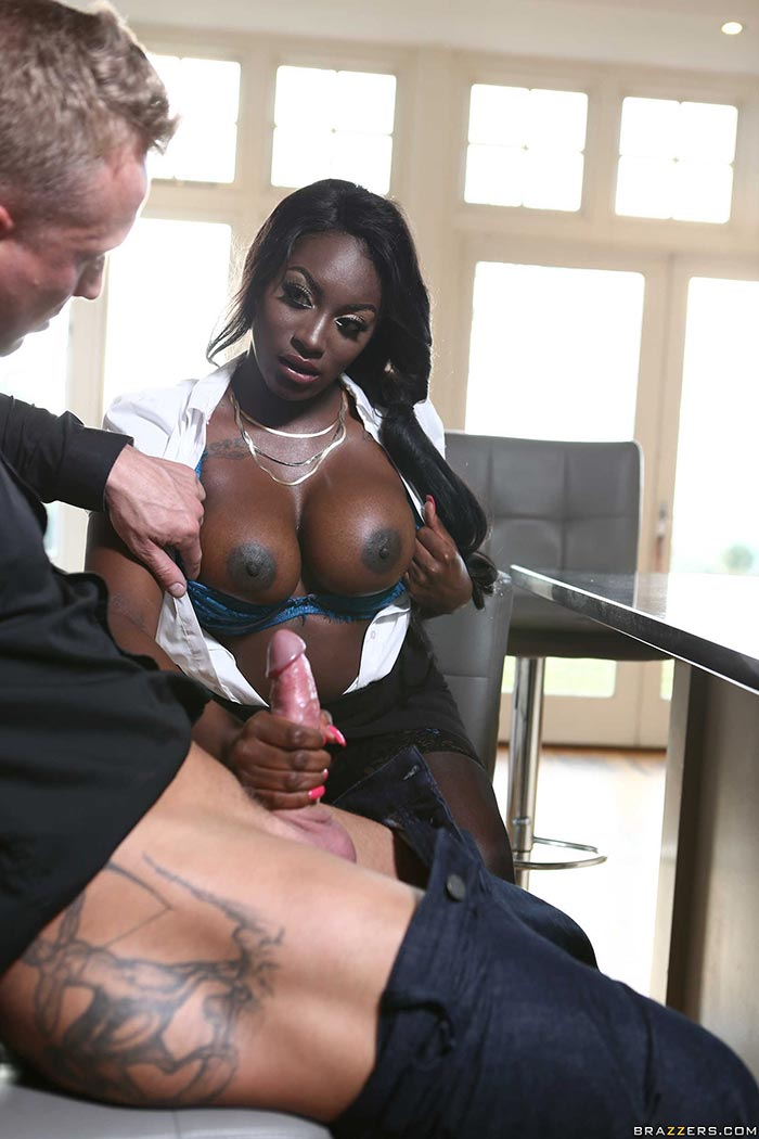 Your place busty share pornstar blowjob believe
