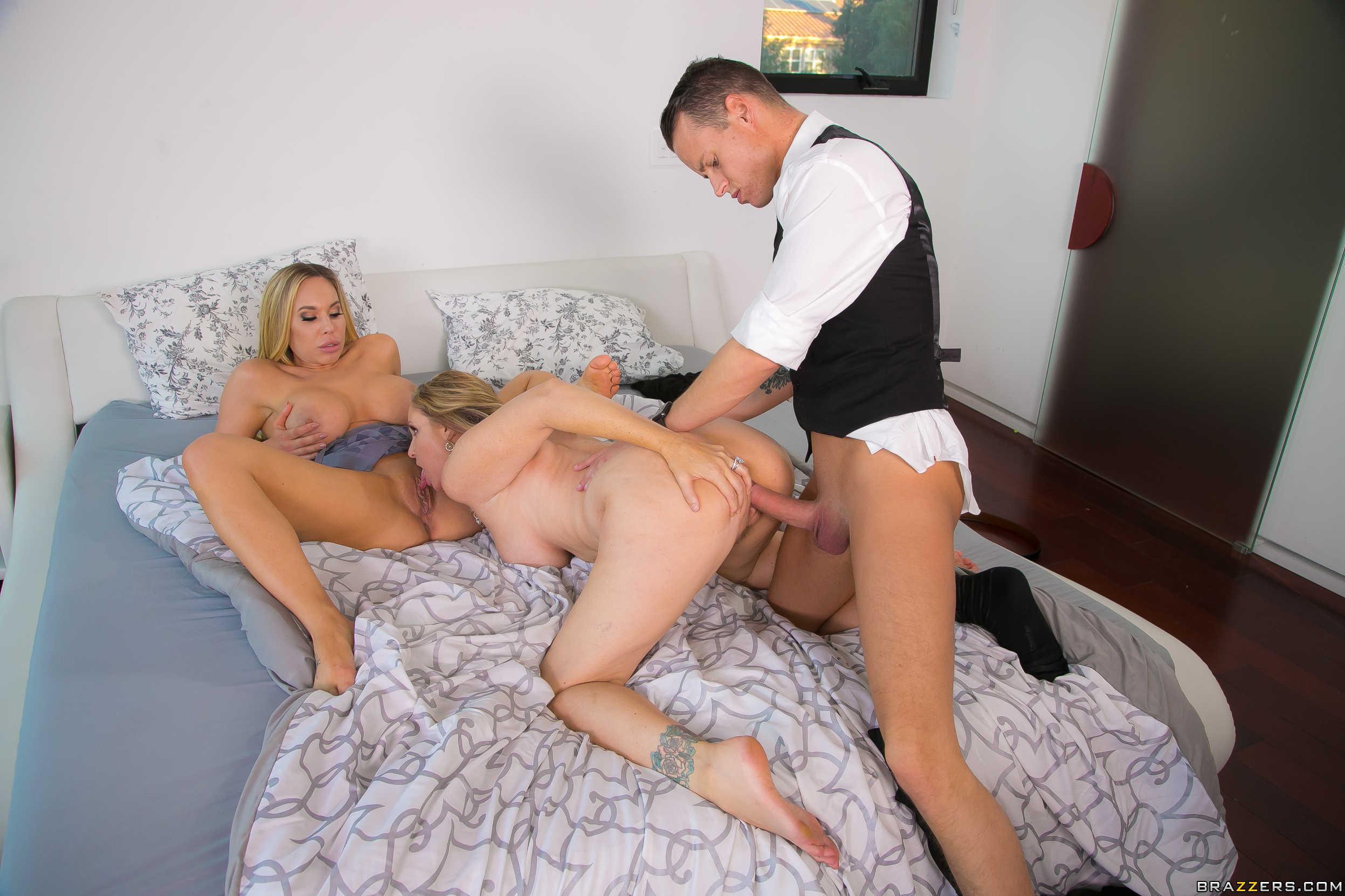 Blonde babe got her pussy fucked hard by her boyfriend