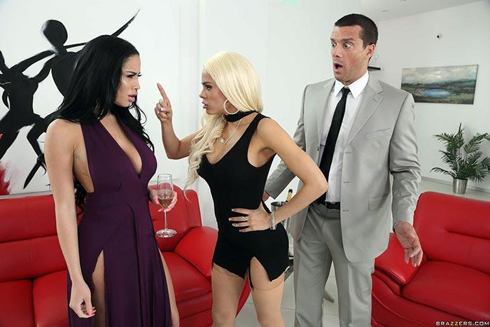 Big Ass Latina Maid Threesome