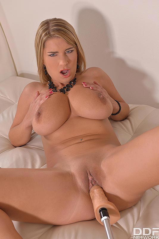Blonde bombshell lactating for your pleasure - 2 part 9