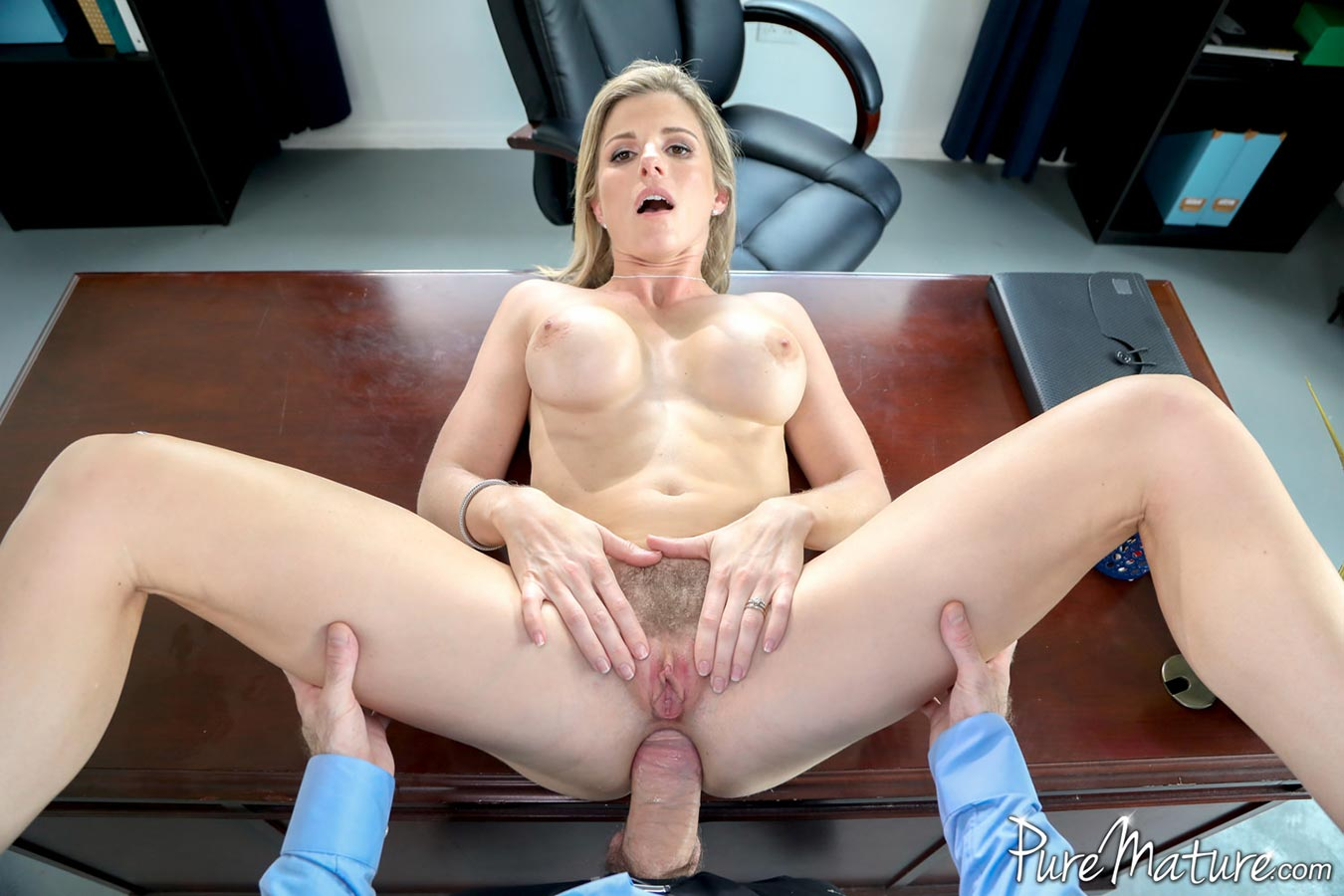 Puremature busty milf real estate agent pounded 3