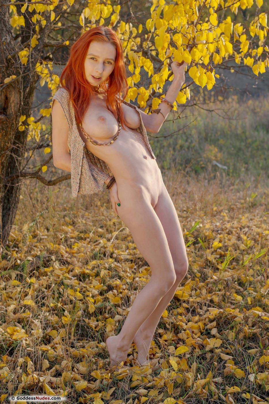 Nude oily dance