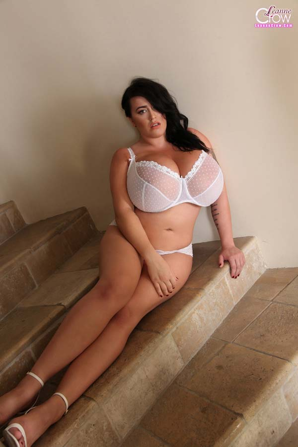 huge-breasted-leanne-crow-in-white-lingerie-at-the-stairs5