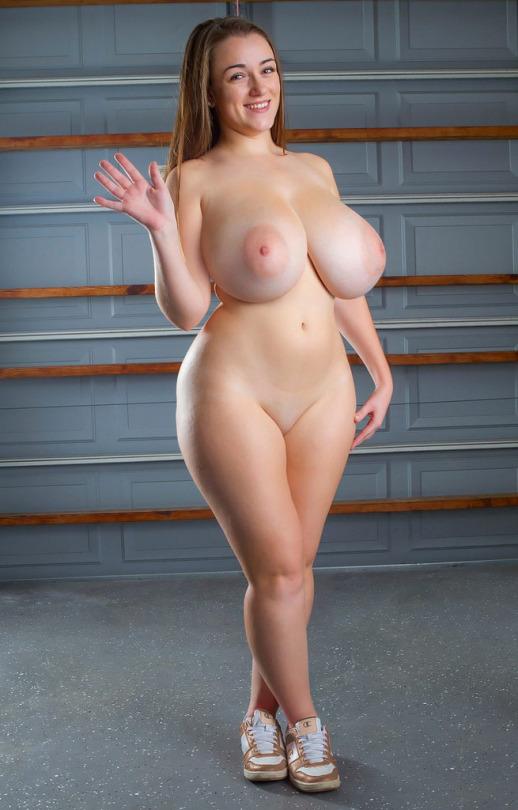 Asian nude flat