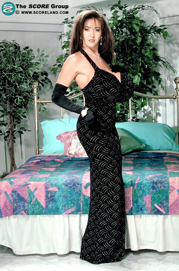 casey-james-in-a-black-party-dress9704403