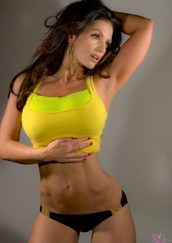 denise-milani-in-a-yellow-top04
