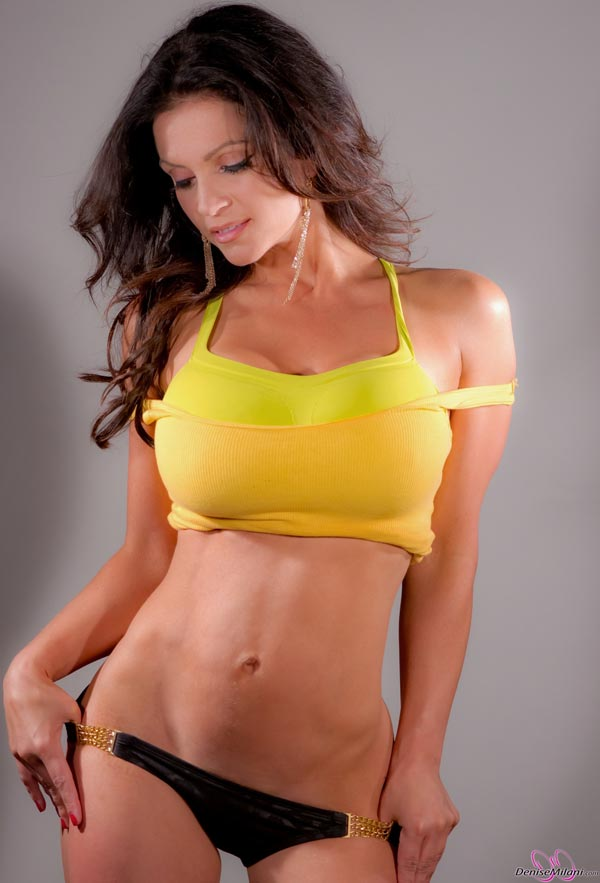 denise-milani-in-a-yellow-top20