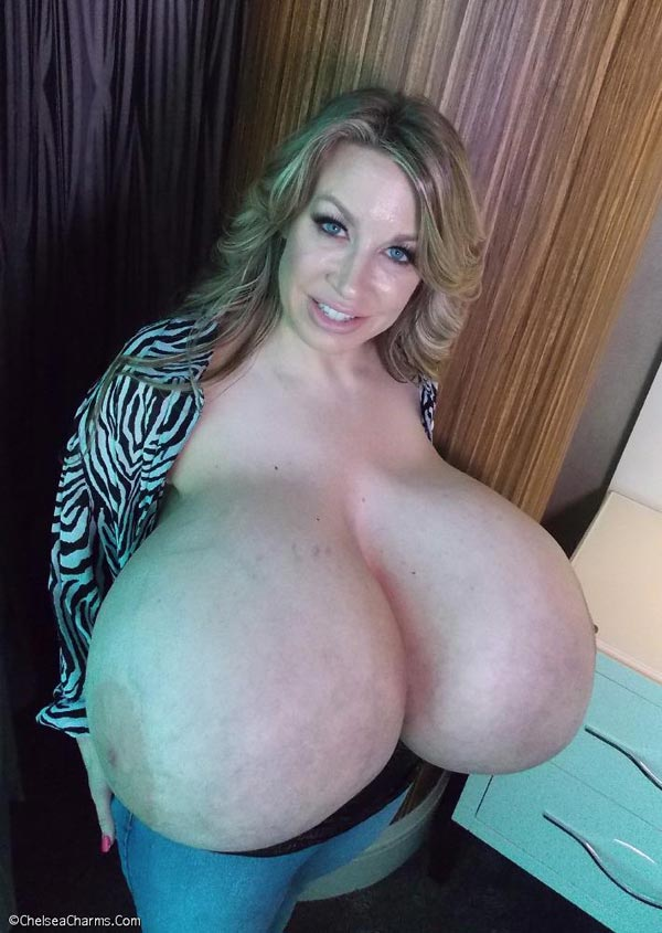 Chelsea charms world's biggest boobs