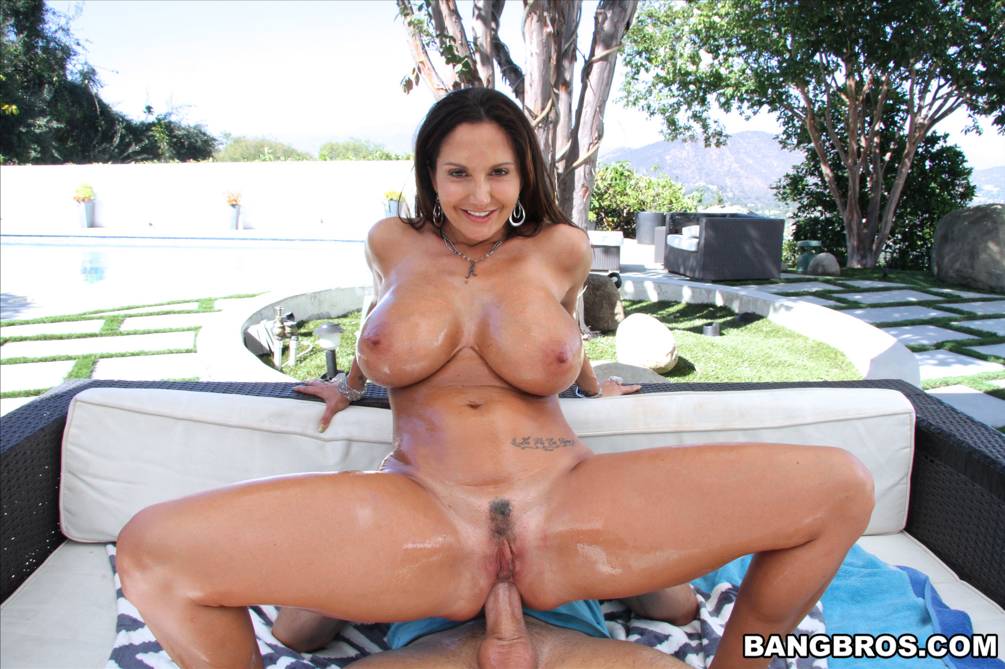 Big Tits Bouncing Cowgirl