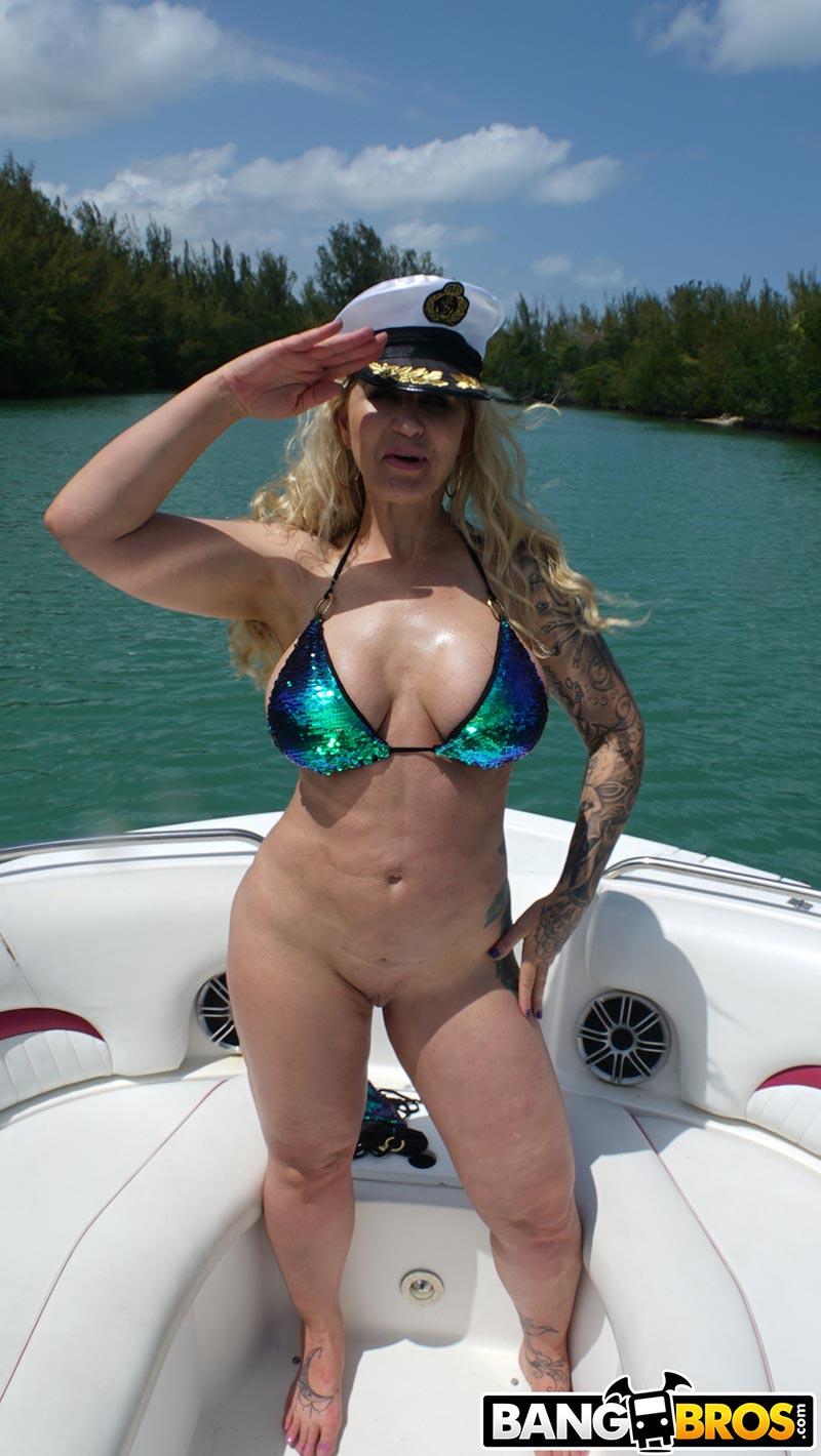 Vintage Blonde Big Tits