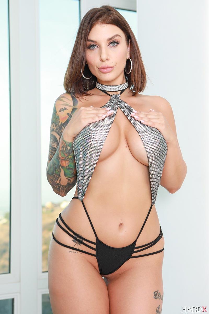Babes Porn Dp dp for slutty babe ivy lebelle – the boobs blog