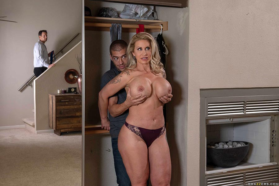 Monster Black Cock Blonde Milf
